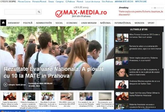 Max-Media.ro isi schimba interfata, in acest weekend. Vom avea alt design!