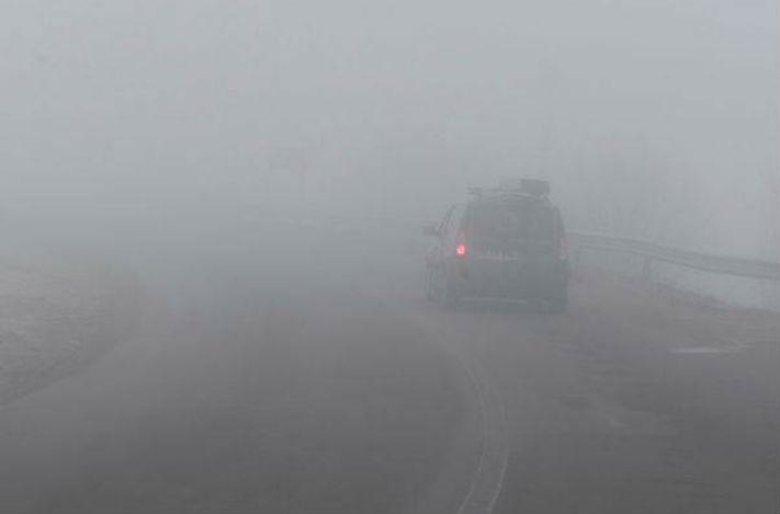 Prahova si alte noua judete din sudul tarii, sub avertizare meteo de ceata si polei