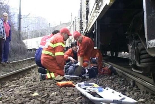 SJU Ploiesti: In ce stare se afla tanarul lovit de tren, in zona Garii de Nord