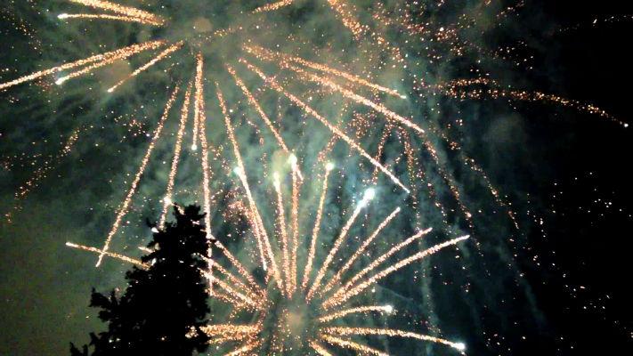 sinaia forever 2014 - artificii