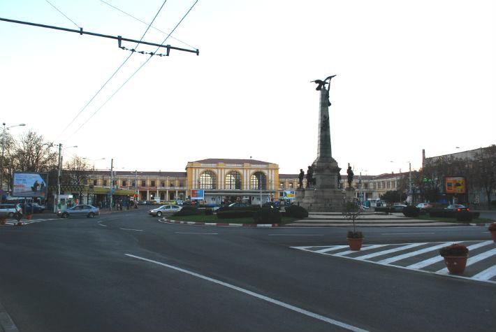 Traficul auto la Gara de Sud, in Ploiesti, este posibil sa fie oprit jumatate de ora de Ziua Bulgariei