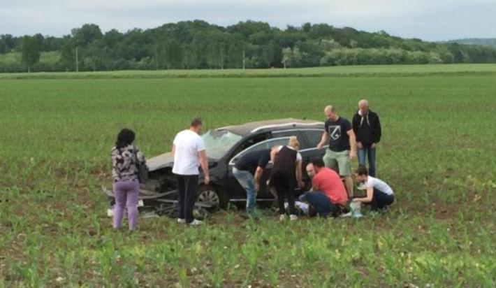 Accident auto mortal, pe DN1, la intersectia cu drumul spre Paulesti. Soferul era baut