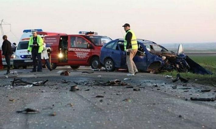 Accident grav pe DN1, la Romanesti. Trei persoane sunt ranite