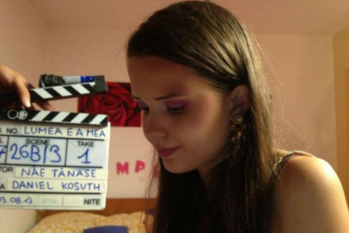 A fost lansat filmul in care joaca fiica unui deputat de Prahova (VIDEO)