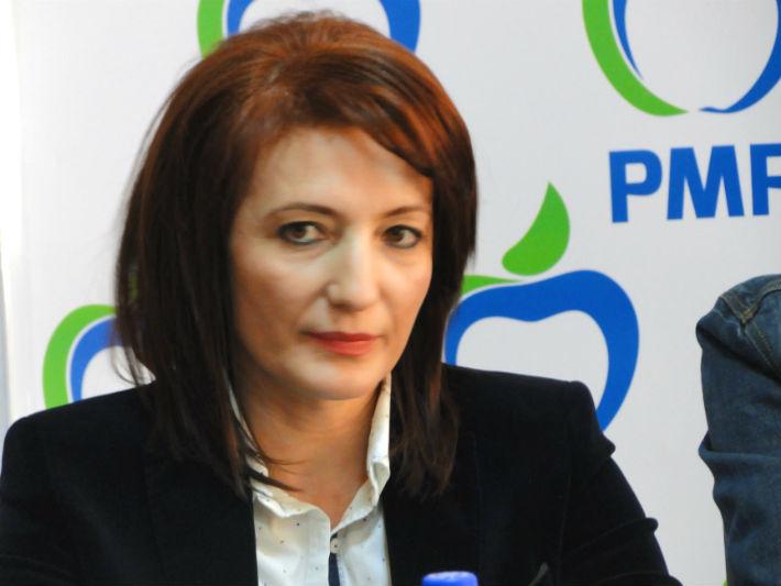 PMP Prahova: Catalina Bozianu a citit, in plenul Camerei Deputatilor, o declaratie despre sistemul sanitar din judet