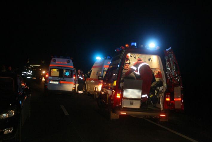 accident-noaptea-tir-microbuz-Prahova