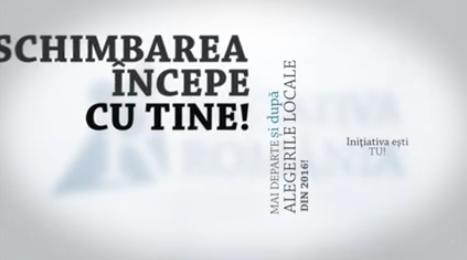 Apare o noua miscare civica, intitulata Initiativa Romania