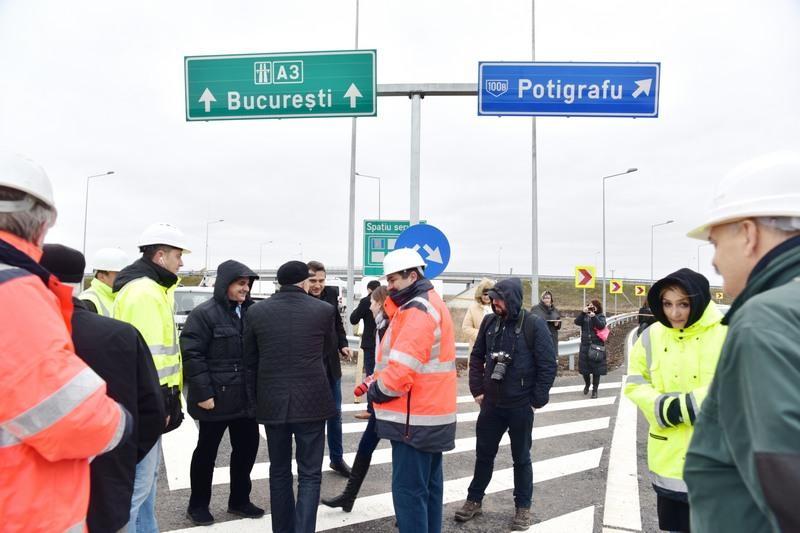 A fost inaugurat nodul de pe A3, din localitatea Gherghita (galerie foto)