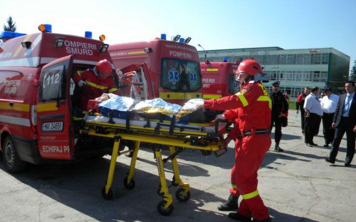 Daca vedeti multe masini de pompieri si salvari la rafinaria Brazi, nu trebuie sa va speriati