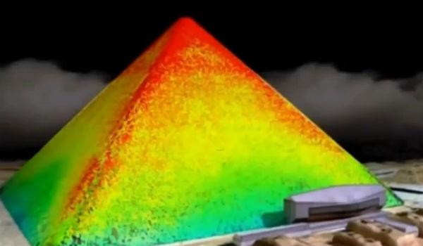 Mai multe anomalii termice au fost semnalate la piramida lui Keops (VIDEO)