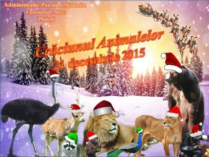 Craciunul animalelor la Zoo Bucov