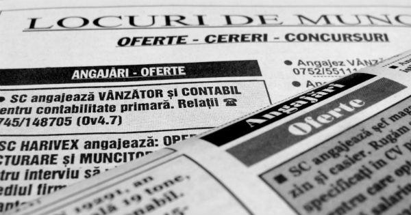 Locuri de munca Campina, Baicoi, Sinaia, Busteni, Filipestii de Padure – 6 februarie 2016