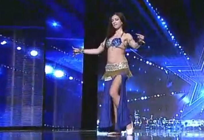 Mariana Vechiu Ploiesti Romanii au Talent sezonul 6 belly dance