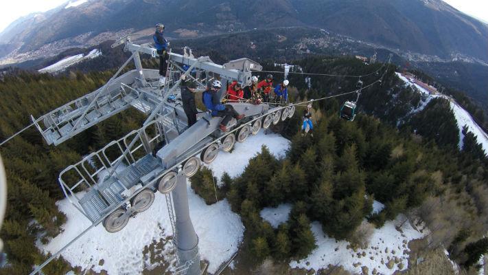 Primaria Sinaia a inaugurat telegondola de la Cota 1400 la Cota 2000, dupa o luna de verificari