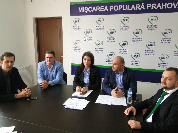 PMP Prahova si-a prezentat candidatii din Ploiesti, Campina, Baicoi, Comarnic si Urlati (VIDEO)