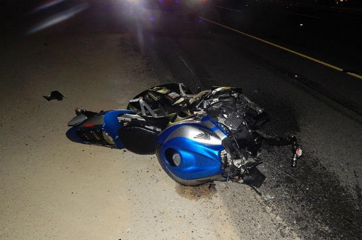 Accident grav pe DN1, Centura Ploiesti Vest. Un motociclist a murit strivit (UPDATE)