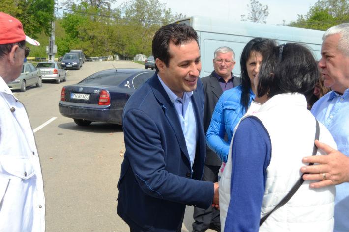 Gabriel Chivaran, candidatul PNL Valenii de Munte, a aflat care sunt problemele oamenilor