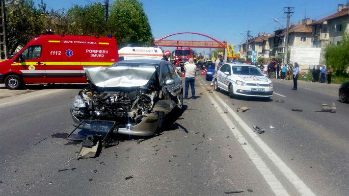 accident Pucheni DN1 sase victime - 2