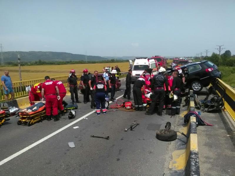 Al doilea accident cu 4 persoane decedate in judetul Brasov, pe DN1. Vezi ce s-a intamplat