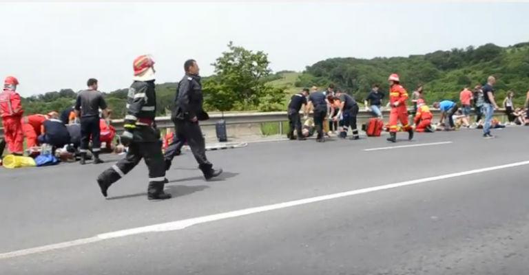 accident Brasov Persani 4 morti