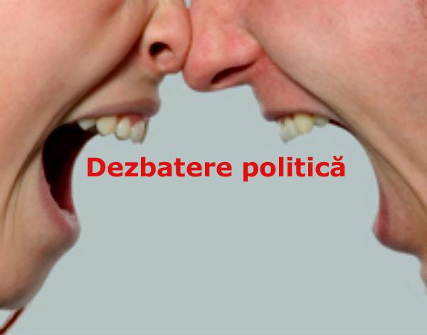 dezbatere politica