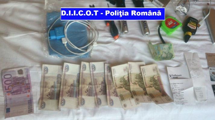 Doi rusi care spargeau ATM-uri in Romania se cazasera la un hotel din Ploiesti. Modul de operare – premiera in Europa