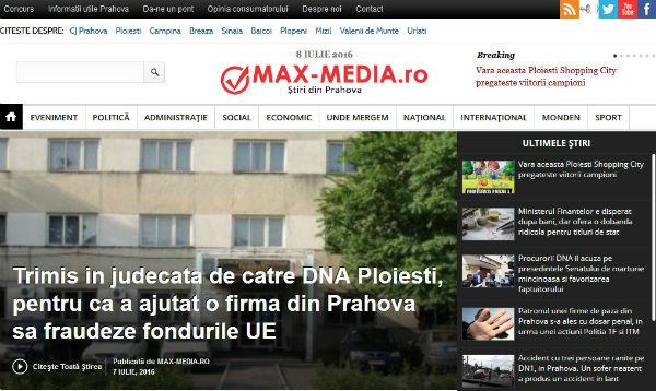 Max-Media.ro ziare online Prahova