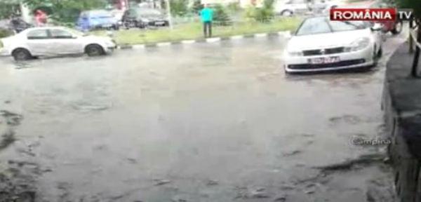 inundatii apocaliptice la Romania Tv