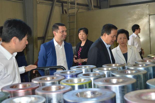 Chinezii au vizitat Parcul Industrial Ploiesti, dar nu au spus nimic de investitii in locatia din Mizil