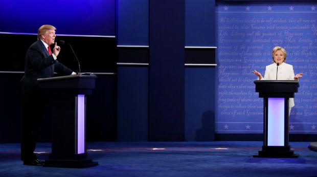 debate Hillary Clinton - Donald Trump october 19
