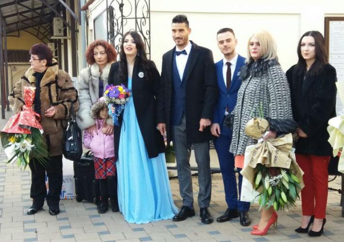 Un fost jucator al FC Petrolul s-a casatorit, la Ploiesti, cu iubita care ii va darui si un copil