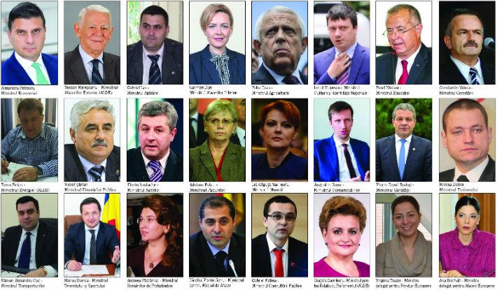 noul guvern Grindeanu 2017