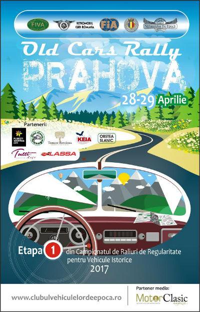 Pasiunile prind viata la Ploiesti Shopping City: Campionatul de Raliuri de Regularitate pentru Vehiculele Istorice