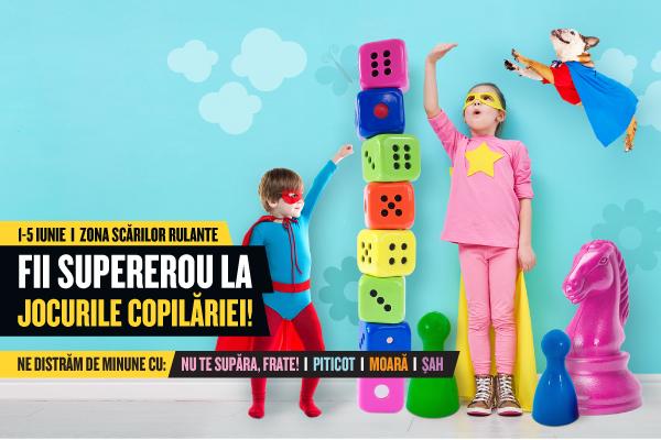 Cea mai mare petrecere pentru copii, la Ploiesti Shopping City! Vino si tu in minivacanta de Rusalii