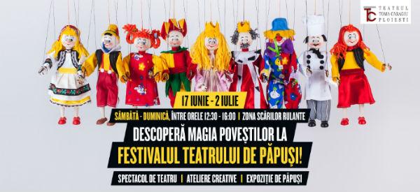 Festivalul teatrului de papusi, la Ploiesti Shopping City: Expozitii de papusi, spectacole de teatru si ateliere creative