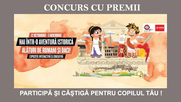 "Max-Media va trimite copiii la expozitie, gratis: ""Hai intr-o aventura istorica, alaturi de romani si daci!"" (UPDATE)"