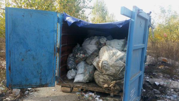 furt materiale reciclabile Ploiesti 2