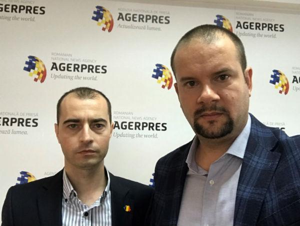 Liviu Besleaga si Alexandru Giboi