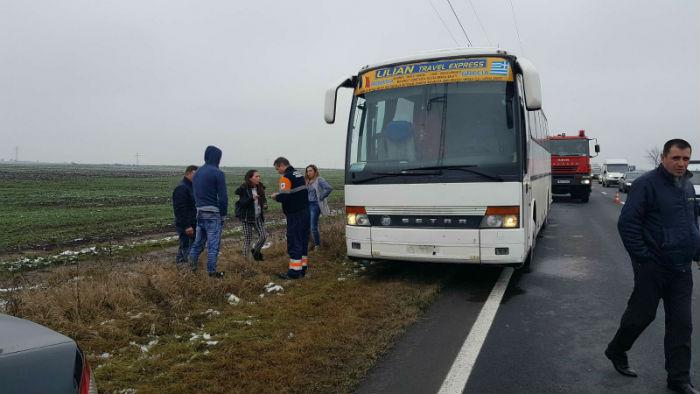 accident DN1 Movila Vulpii 2
