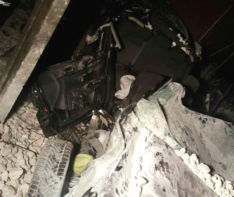 accident DN72 Bratasanca