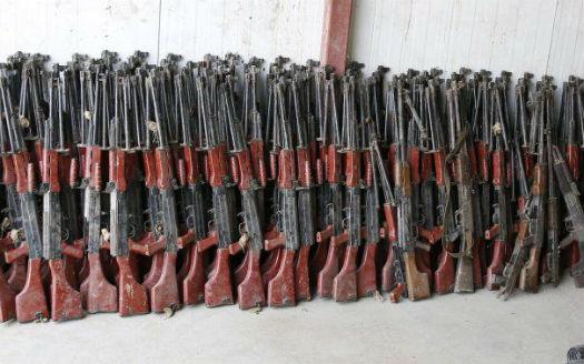 O treime din armele folosite de gruparea Stat Islamic sunt fabricate in state europene, intre care si Romania