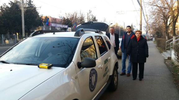 APM Prahova s-a pricopsit cu un auto-laborator de monitorizare a calitatii aerului, datorita Gratielei Gavrilescu