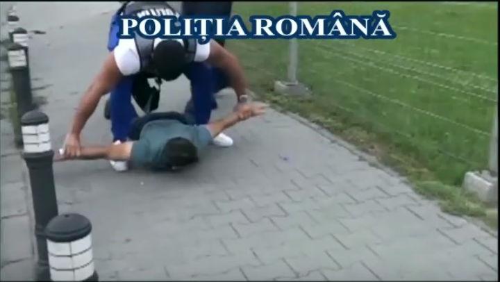 Politia Romana: Cum sunt filati si prinsi infractorii de agentii sub acoperire (VIDEO)