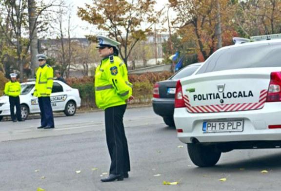 Ploiesti: Politista locala, acrosata in mod intentionat cu masina de un individ care a fugit