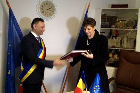 Vizita regala in Prahova: Principesa Maria a fost la Campina si la Valea Doftanei (FOTO)