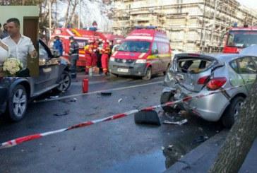 Barbatul care a provocat un accident cumplit in Bucuresti este din Campina