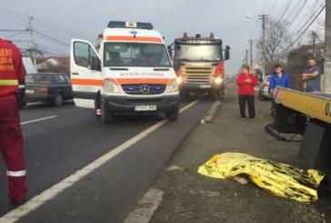 Accident mortal pe DN1, la Barcanesti. Un batran a sfarsit sub rotile unei masini (FOTO)
