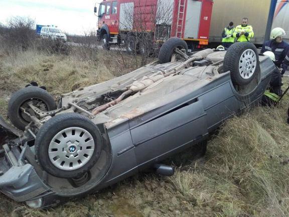 Accident mortal pe un drum judetean din Prahova