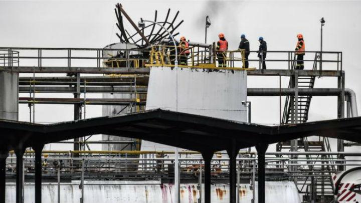 blast Czech chemical plant