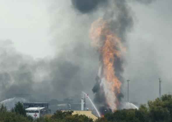 prahoveni morti explozie fabrica Cehia